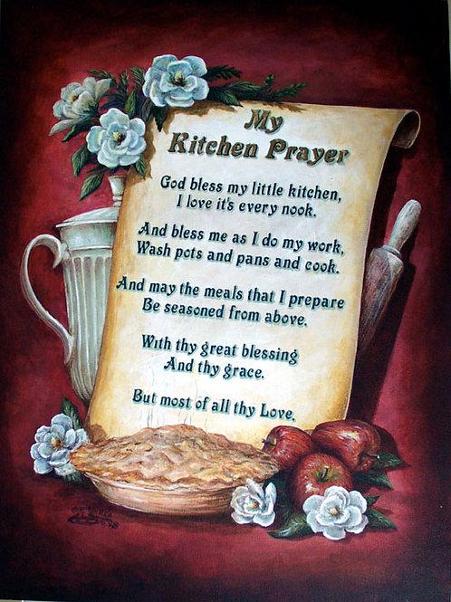 PRTOE619-My Kitchen Prayer