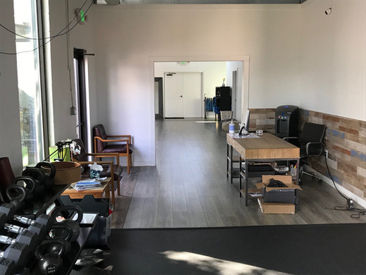 Front Desk and Studio at Human Function and Performance Physical Therapy