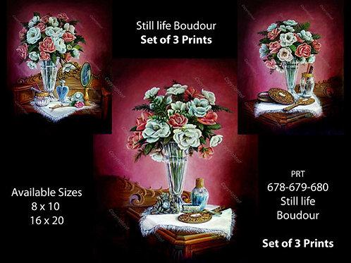 PRTOE678-679-680   Boudour Still Life