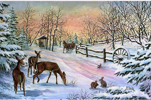 PRTGLP285-Winter Ride & Three Deer