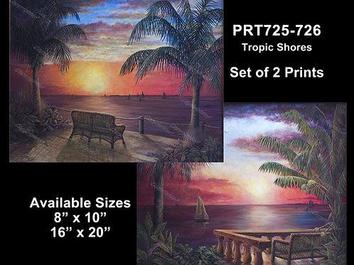 PRTOE725-726 Tropical Shores
