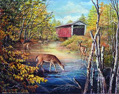 PNT775-Six-Deer-&-Covered-Bridge----WEB-