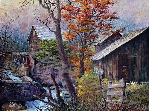 PRTGLP495-Mill And Barns