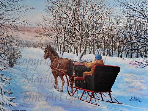 PNT453-Winter Sleigh Ride