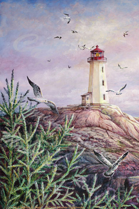 PRTGLP430-Seaside Lighthouse