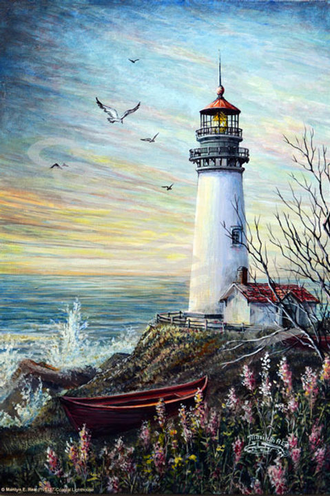 PRTGLP487-Coastal Lighthouse