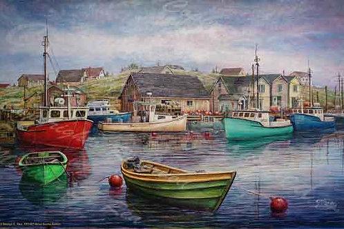 PRTGLP427-Nova Scotia Harbor