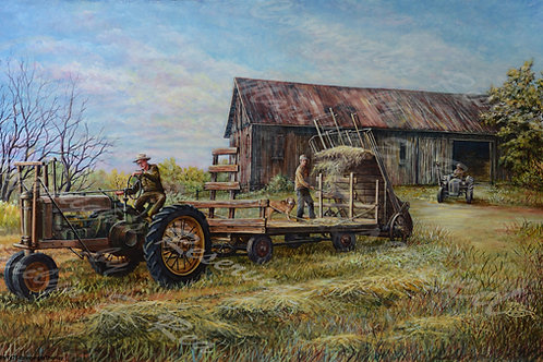 PRTGLP475-Bringing In The Hay