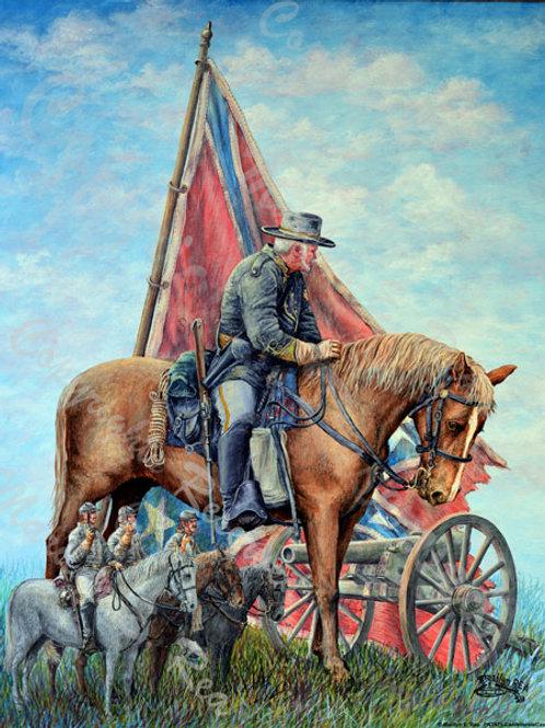 PRTGLP471-Confederate Calvary Captain