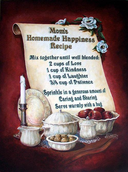 PRTOE628-Moms Happy Recipe