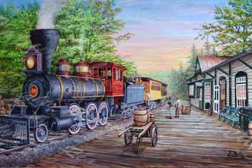 PRTGLP467-Steam Tahoe Train & Station
