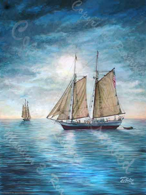 PRTGLP415-Sailing the Keys in evening