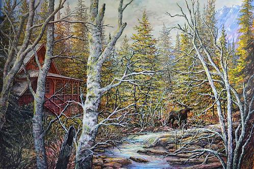 PNT491-Jasper Cabin - Deep Woods