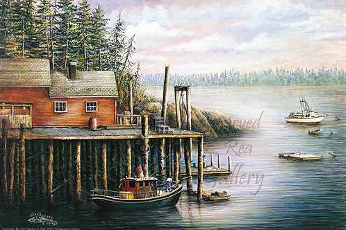 PRTGLP179-Morning in Maine (Tug)