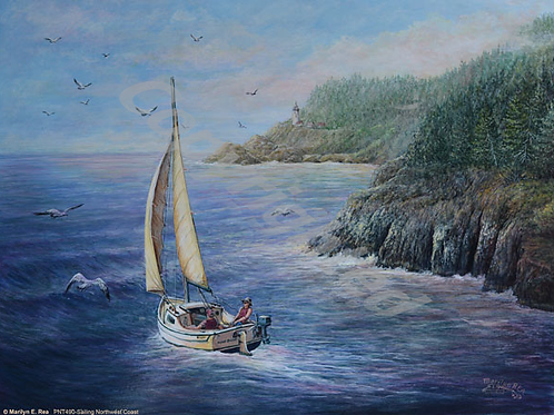 PRTGLP490-Sailing Northwest Coast