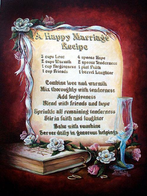 PRTOE617-Happy Marriage Recipe