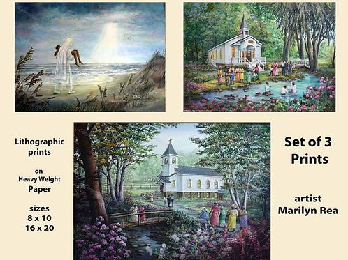 PRTOE701-702-707  Religious Scenes
