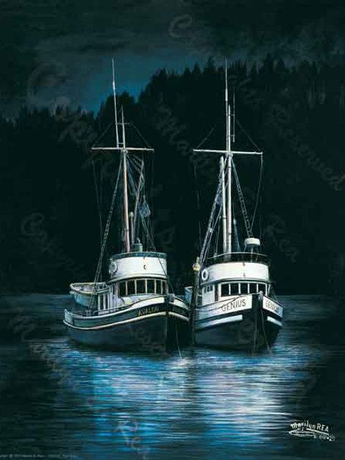PRTGLP226-Twin Ships