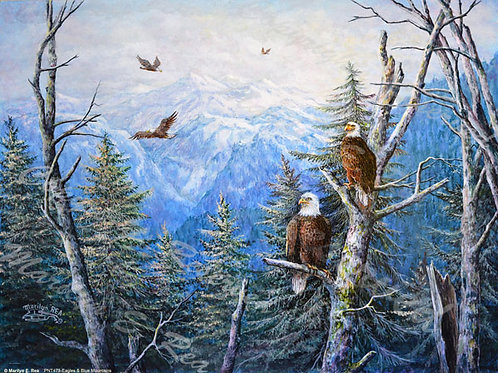 PRTGLP479-Eagles & Blue Mountains