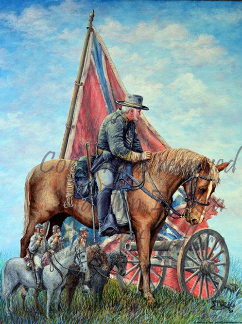 PNT471-Confederate Calvary Captain