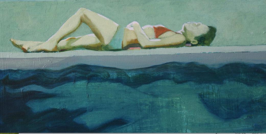 """The Sunbather"""