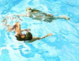 """Swimming Past"""