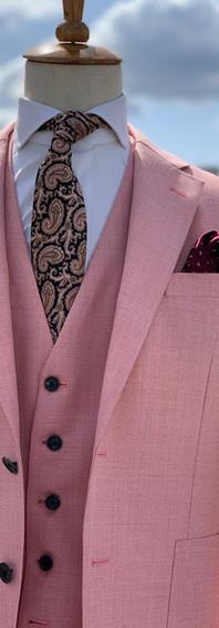 ピンク 3P シングルベスト