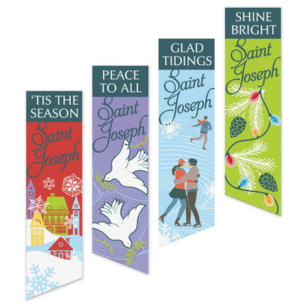 St. Joseph Holiday Banners