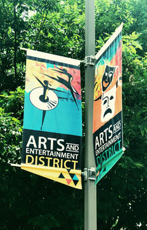 Arts District Banners