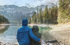 Paar dat landschap