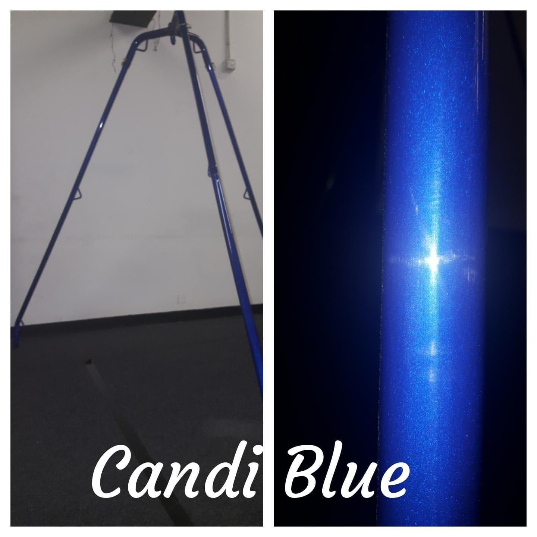 Candi Blue Tripod Rope Frame