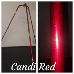 Candi Red Tripod Rope Frame