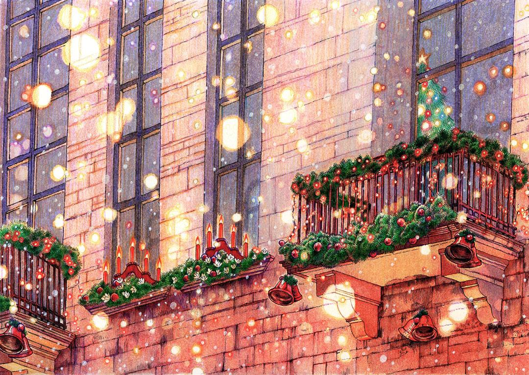 クリスマスカード(いのちのことば社/2019年)