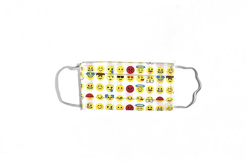 Masque Emojis blanc