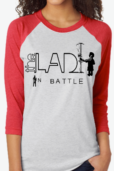 The Lad in a Battle T-SHIRT