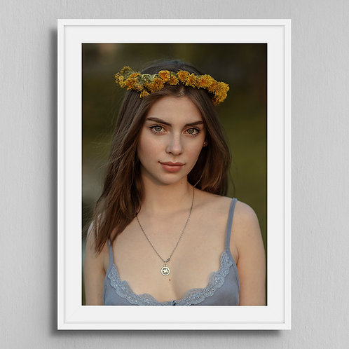 Poster Dandelion wreath 2