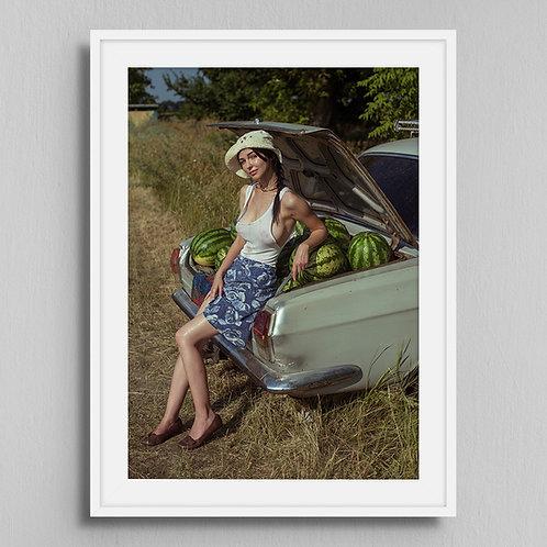 Poster Watermelon seller 1