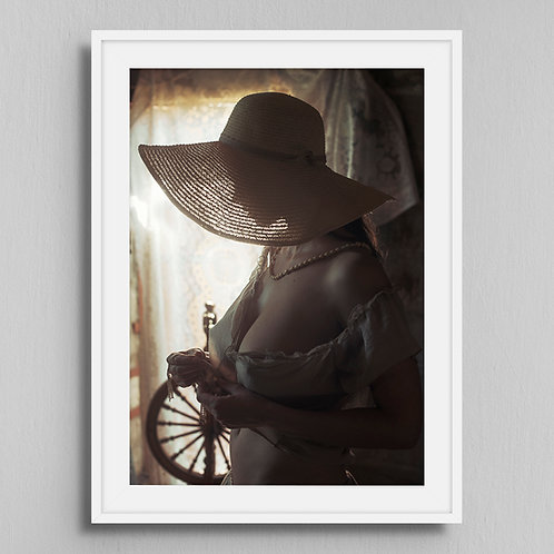 Poster Girl with hat