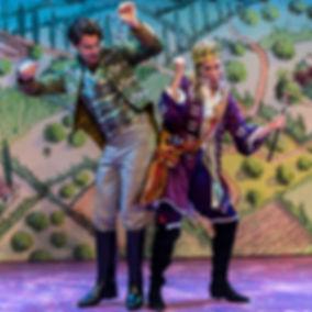 Prince & Dandini hip bump.jpg