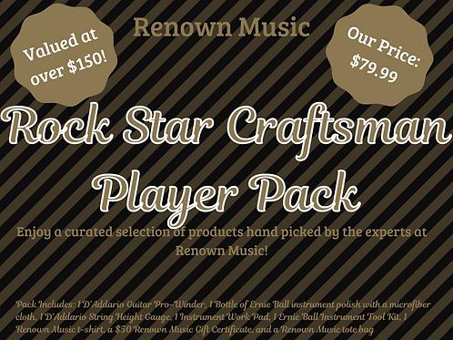 Rock Star Craftsman Player Pack