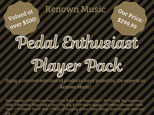 Pedal Enthusiast Player Pack