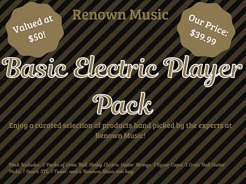 Basic Electric Player Pack