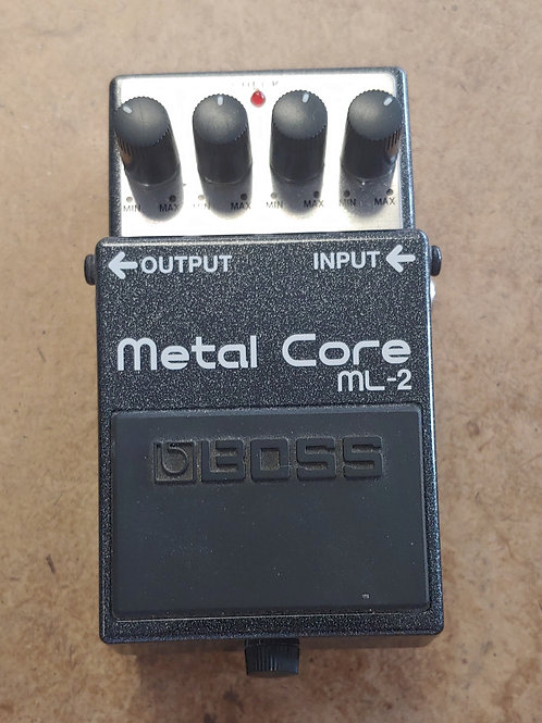 Boss Metal Core ML-2 Pedal