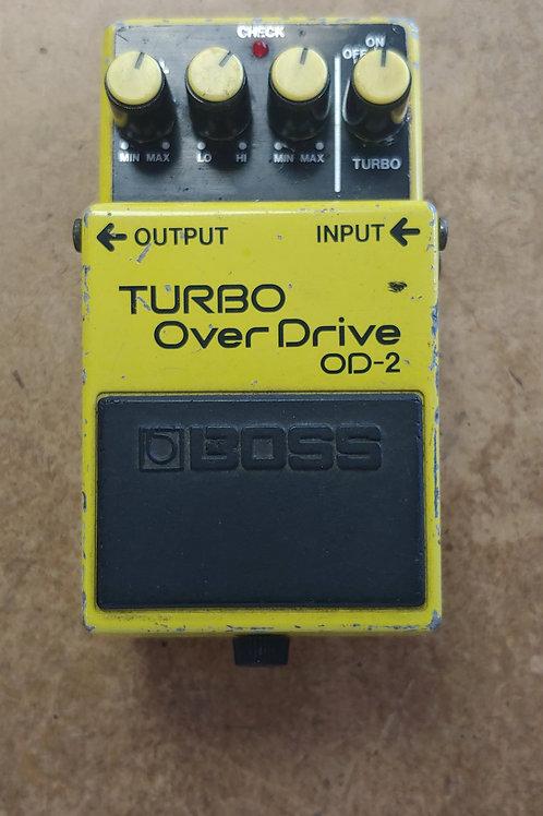 Boss OD-2 Turbo Overdrive Pedal