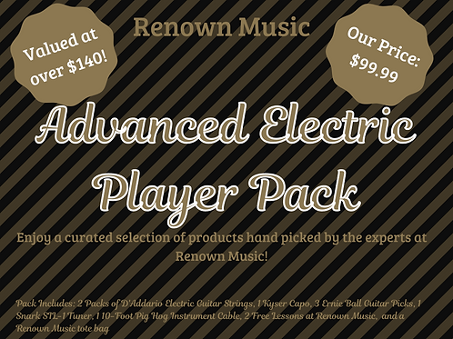 Advanced Electric Player Pack