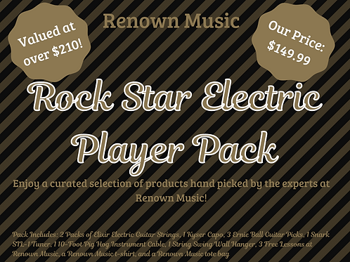 Rock Star Electric Player Pack