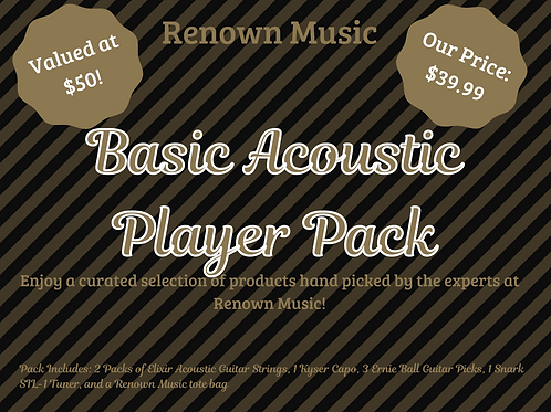 Basic Acoustic Player Pack