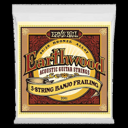 Ernie Ball Earthwood 5-String Banjo Frailing