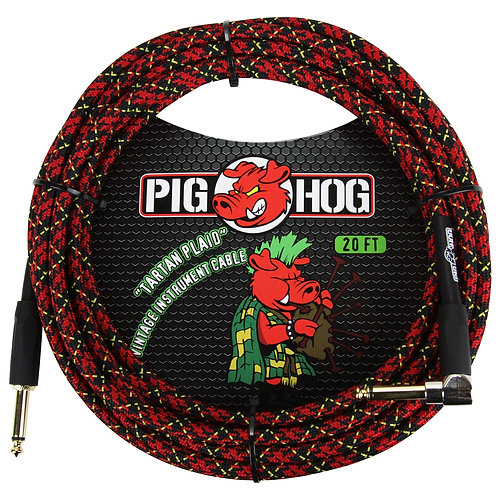 Pig Hog 20' Instrument Cable