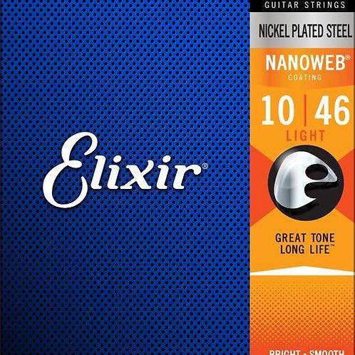 Elixir Nickel Plated Steel Electric Strings